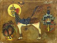 1.«Аль Буракъ». 1968. Холст, масло. 75х93 см